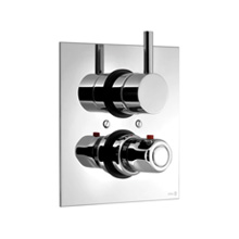 Monocomando embutido termostático com controle de volume - Série techno 465 - Ref.: 35821TH - CIFIAL