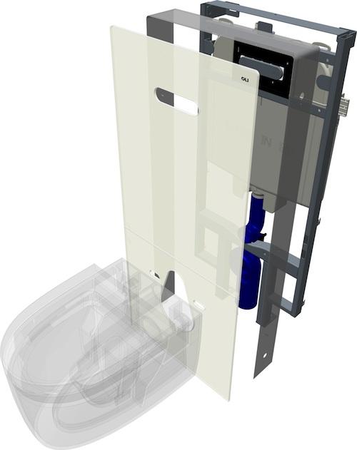 QR-INOX Módulo Sanitário