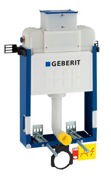 Estrutura Geberit Kombifix com autoclismo Kappa 15 cm (UP200), para sanita suspensa 98 cm