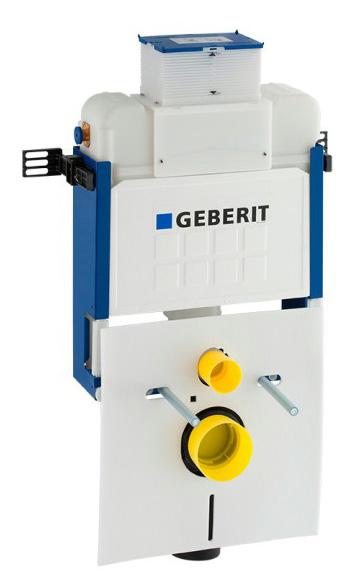 Estrutura Geberit Kombifix com autoclismo Kappa 15 cm (UP200), 82 cm, para sanita suspensa
