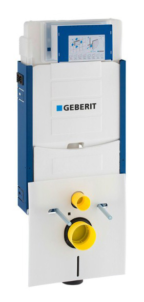 Estrutura Geberit Kombifix com autoclismo de interior Sigma 12 cm (UP320) para sanita suspensa